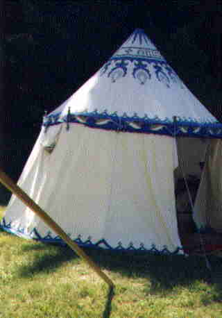 & Round Tents and Pavilions